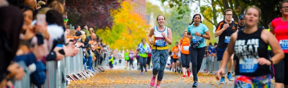 Run The Leicester Marathon in 2019